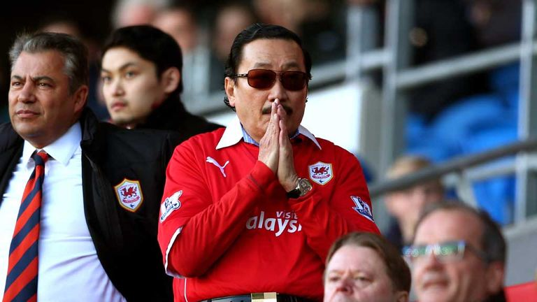 Vincent Tan: Cardiff owner hints at colour change