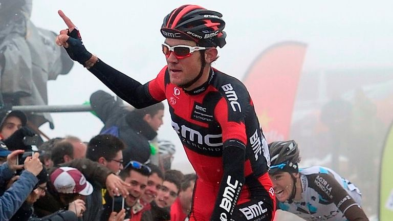 Tejay van Garderen narrowly beat Romain Bardet to victory