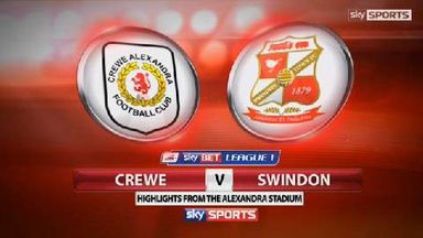 Crewe 1-1 Swindon