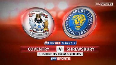 Coventry 0-0 Shrewsbury