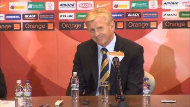 Strachan happy with progess