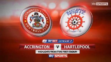 Accrington 0-0 Hartlepool