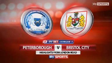 Peterborough 1-2 Bristol City