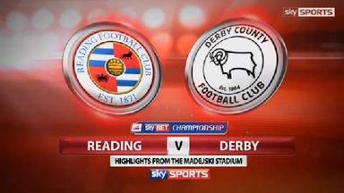 Reading 0-0 Derby County