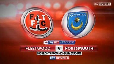 Fleetwood Town 3-1 Portsmouth