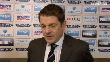 Carver: Not clinical against Everton