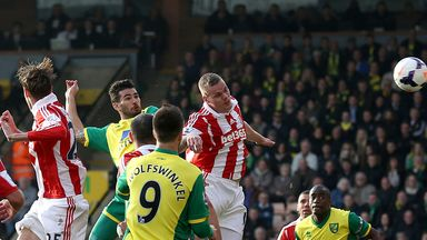 Bradley Johnson: Norwich midfielder finds the net against Stoke