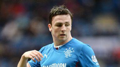 Calum Gallagher: Loan move for Rangers striker