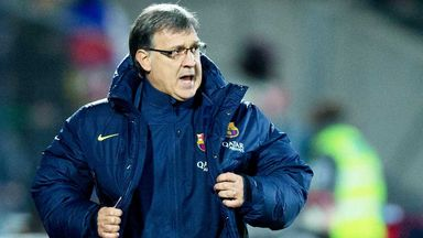 Gerardo Martino: Pleased for Lionel Messi following his winning goal
