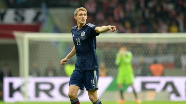 Darren Fletcher: Delighted to be back in Scotland colours