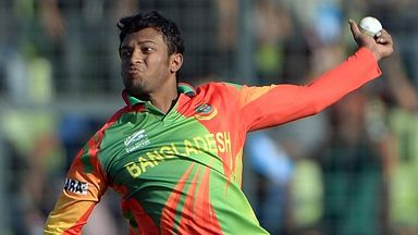 Shakib Al Hasan: All-rounder suspended by Bangladesh