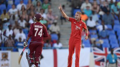 Start Broad: Believes England are moving in the right direction