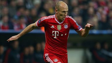 Arjen Robben: Scored at Old Trafford in 2010 and is relishing the chance to face Manchester United once more