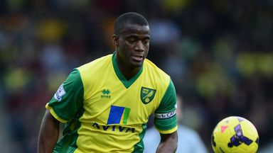 Sebastian Bassong: yet to feature for Norwich this season