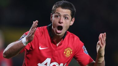 Javier Hernandez: No talks planned with Manchester United