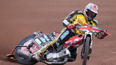 Chris Harris: Unbeaten night for Coventry Bees (Picture credit Jeff Davies)
