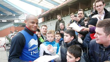 Vincent Kompany: Looking to build momentum at home and abroad
