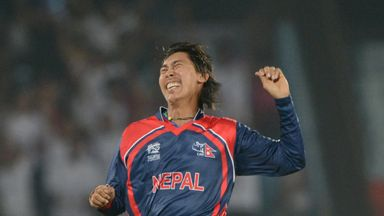 Shakti Gauchan: Nepal spinner had figures of 3-9 from his four overs