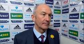 Pulis happy not to lose