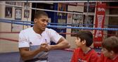 Boxer Anthony Joshua delivers fitness masterclass on Game Changers