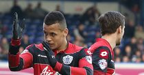 Ravel Morrison: Celebrates goal for QPR at Birmingham