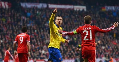 Bayern oust battling Arsenal