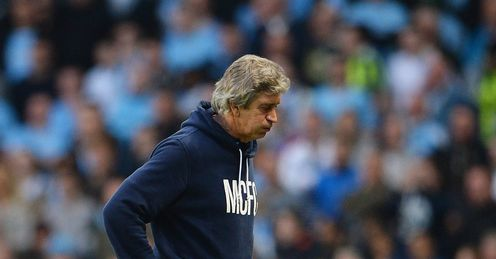 Manuel Pellegrini: Critical of his side's performance in the defeat to Wigan