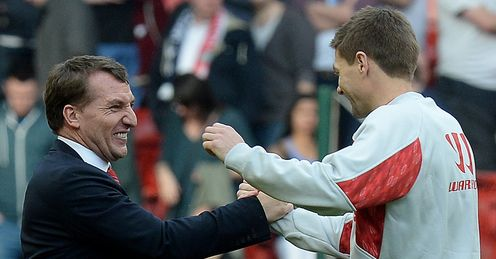 Brendan Rodgers: Will become one of the world's best, says Steven Gerrard