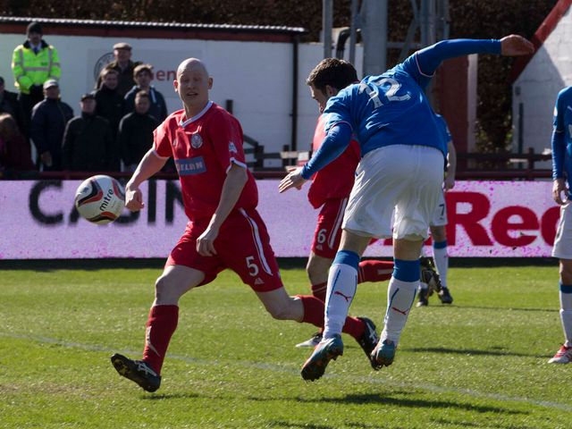 Nicky Clark scores this goal for Rangers