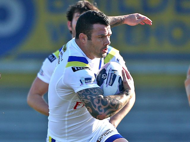 Chris Bridge was in the points for Warrington Wolves