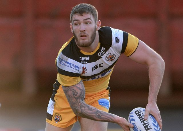 Daryl Clark: Superb hat-trick for Castleford