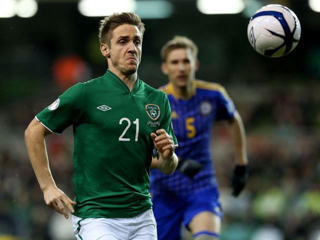Kevin Doyle: Scored for the Republic of Ireland
