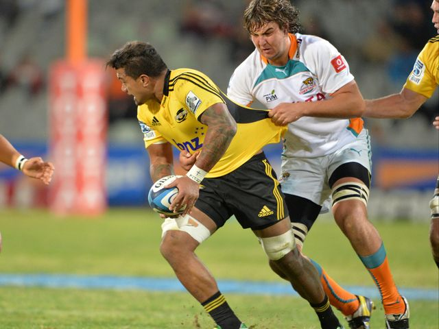Faifili Levave: Try double was not enough for the Hurricanes