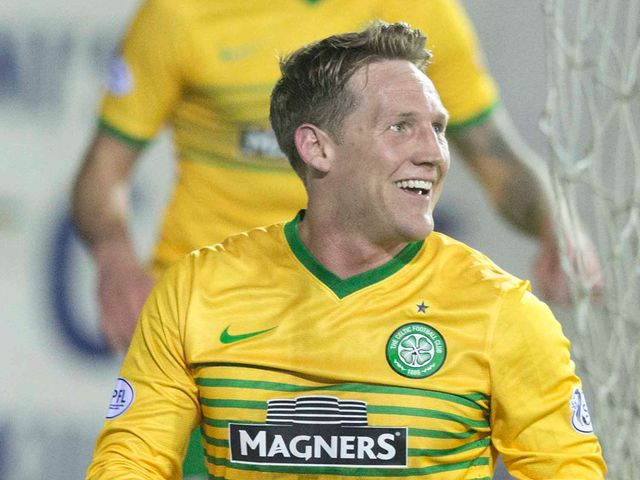 Kris Commons: Scored all three goals for Celtic