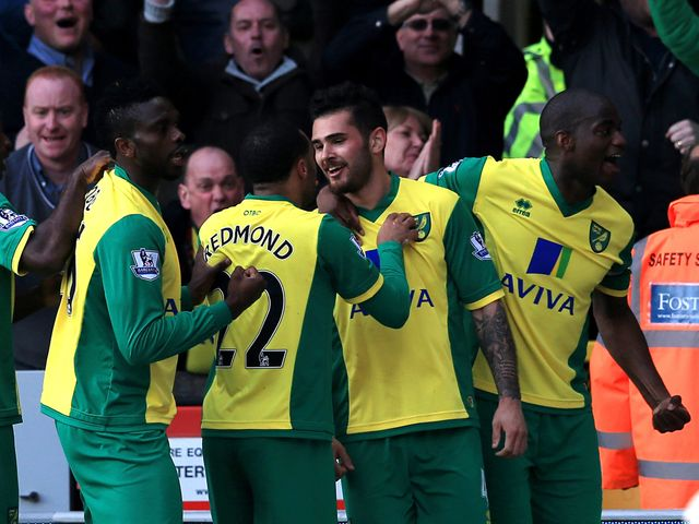 Bradley Johnson set Norwich on the way to an easy win