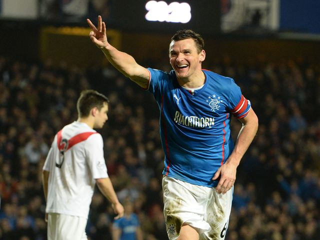 Lee McCulloch scored a hat-trick for Rangers
