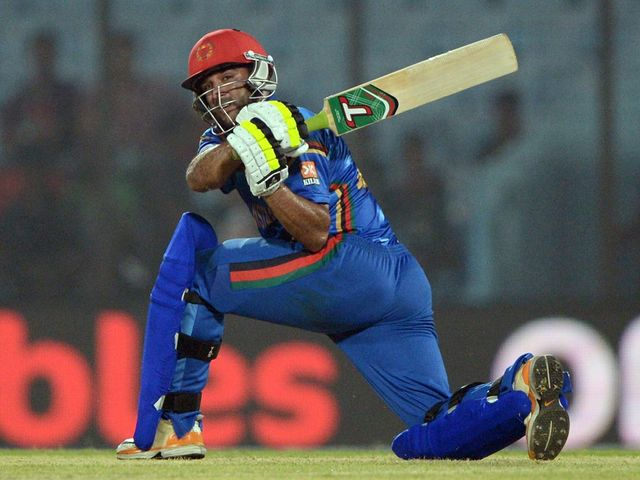 Shafiqullah's 51 not out took Afghanistan to victory