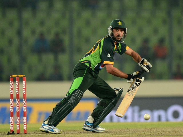 Shahid Afridi helped Pakistan reach the final