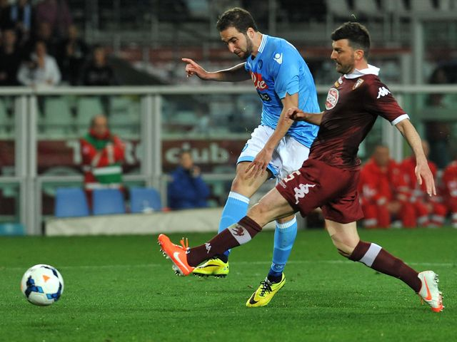 Gonzalo Higuain fires in the controversial winner