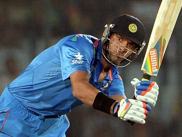 Yuvraj Singh: Hit nine sixes in a blistering 29-ball innings of 68