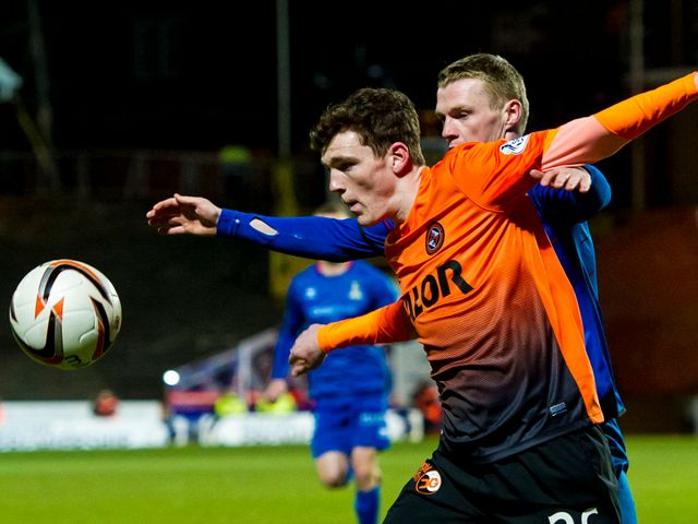 Andrew Robertson holds off Billy McKay