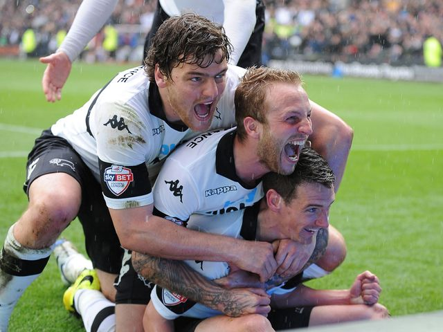 Derby came from behind to beat Huddersfield