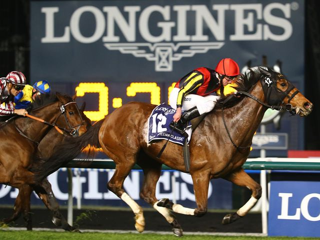 Gentildonna overcame trouble in running to score