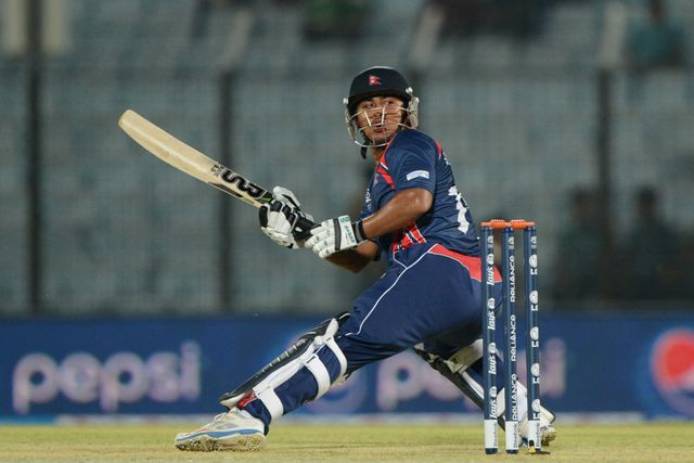 Gyanendra Malla: Nepal right-hander top scored with 48 off 41 balls