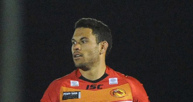 Daryl Millard: Should return for Catalan Dragons against Hull KR