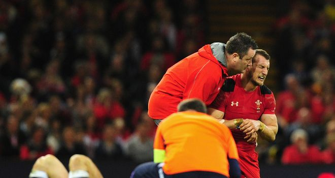 Sam Warburton: ruled out for the season