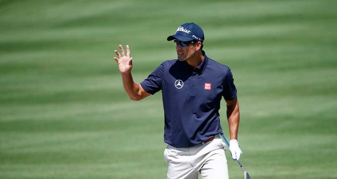 Adam Scott: Early leader in Florida