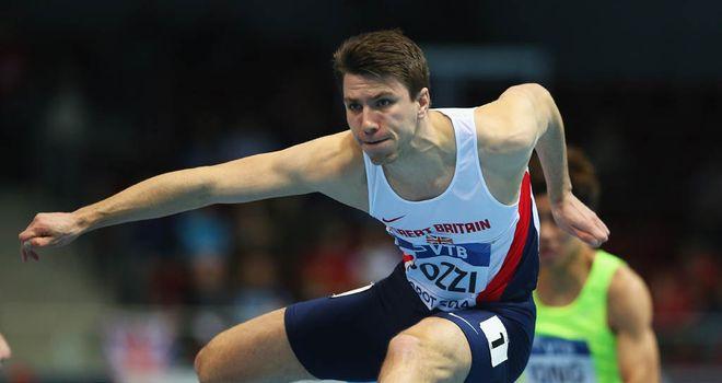 Andy Pozzi: Fresh injury misery for British hurdler