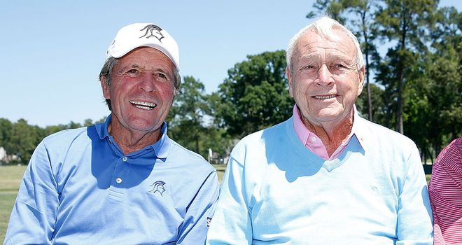 Gary Player and Arnold Palmer: Part of a new selection committee