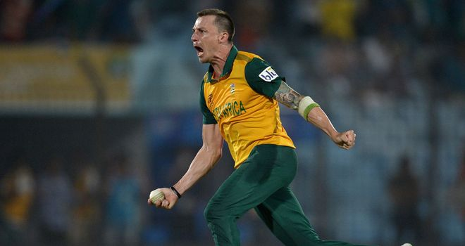 Dale Steyn: Took four wickets against the Black Caps